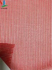 厂家出口PVC网格布 建筑安全网130克 涂塑机织防炎网250D22*19
