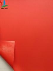 现货500DPVC涂层夹网布 外卖箱夹网 食品保温箱外卖送餐箱面料