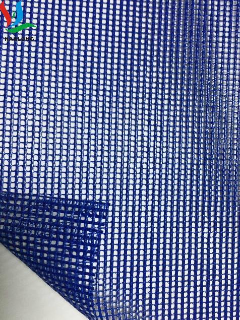 供應箱包寵物袋防護圍欄用高強透氣PVC塑膠網格布廠家熱銷 5