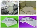 Depth filter sheets or Cellulosic Filter