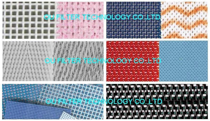 Conveyor mesh belt for non-woven 1