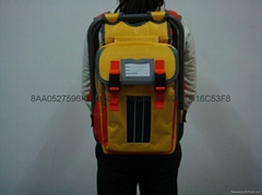 Solar Backpack with folding chair