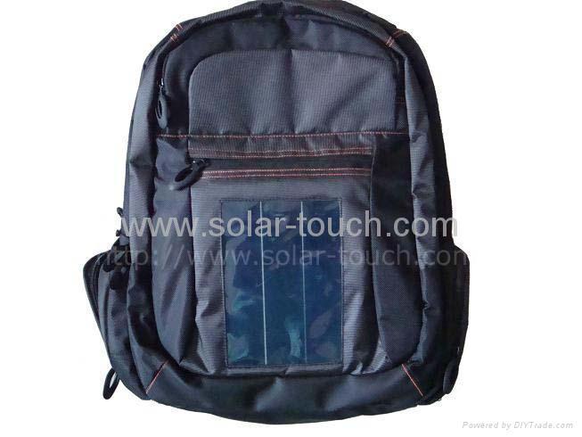 太阳能笔记本电脑背包 1