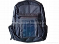 Solar Notebook Backpack(1W flexible solar panel) 1