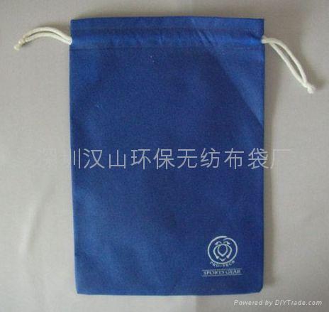 無紡布廣告束口袋 2