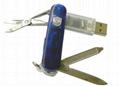 Knife Design  Flash Drive Revolving