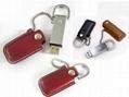 Leather USB Flash Drive (HU-226)