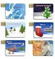 Credit Card Christmas gift  USB Disk ( HU-275 ) 1