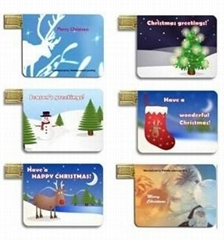 Credit Card Christmas gift  USB Disk ( HU-275 )