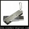 Metal usb disk ( HU-528)can print LOGO