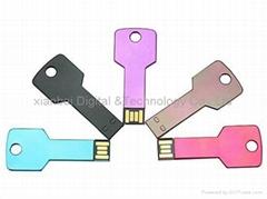 超薄钥匙U盘