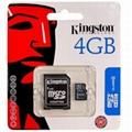 Kingston Micro SD Card 4GB (P-T066)