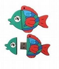 魚外形U盤