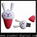 Gift USB Drive - Rabbit Style (HU-207)