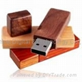 wooden USB Flash Drive (HU-1116)