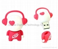 music doll  usb flash drive(HU-1161)