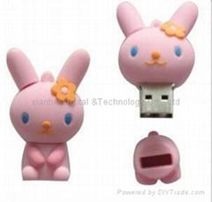 Cartoon USB Flash Disk (HU-683)