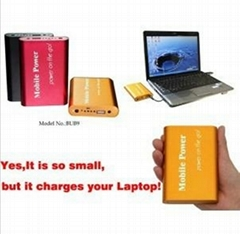 The Smallest Portable Power Bank for Laptop with 9000mAh Capacity (BUB9)