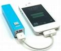 USB Mini Universal External Lithium Battery 2600mAh Power Bank (TPS2211) 5