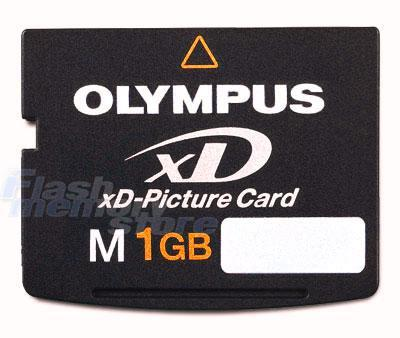 1GB XD Picture Cards, Memory Card 1