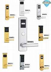 304 stainless steel hotel card key locks