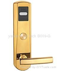 304 stainless steel hotel card key locks 2