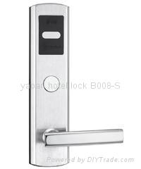 304 stainless steel hotel card key locks 3