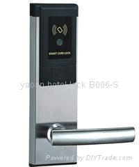 304 stainless steel hotel card key locks 4