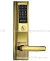 Electronic password door lock
