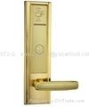 Luxury RF card hotel door lock