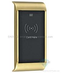 EM card cabinet lock for