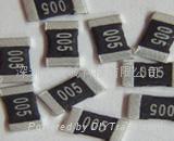 金属合金低阻抗(微)毫欧电阻器