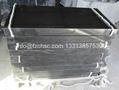Rectangular black granite monument 2