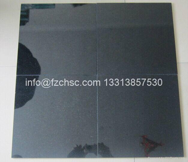 Absolute black granite tile 1