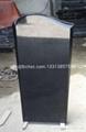 Shanxi black granite figure monument