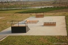 滑板滑道设施