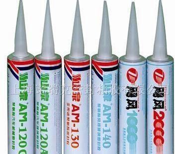 山泉AM-140K聚氨酯风挡玻璃胶 1