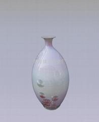 结晶釉小花瓶