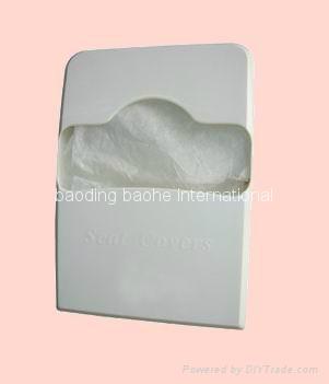 Dispenser for toilet seat cover 1