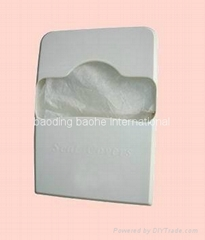 Dispenser for toilet seat cover