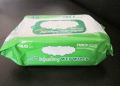 Non-Woven Fabric Adult Wet Wipes Without Alcohol
