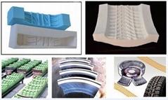 Supply of liquid silicone rubber for automobile tire mould