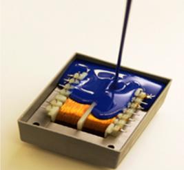 供应LED电子灌封液体硅胶 1