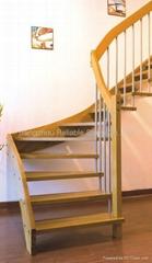 Steel Wood Stairway
