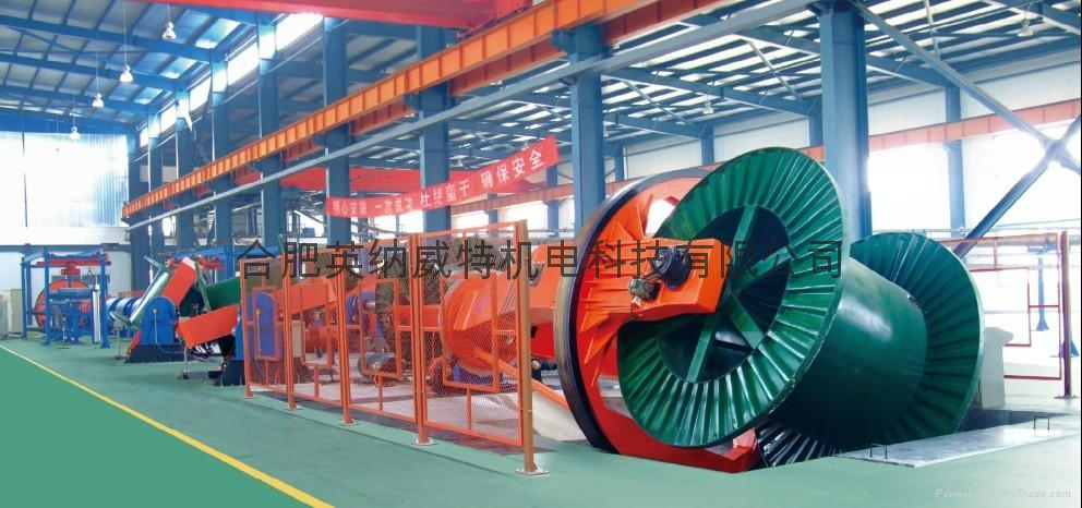 Model JPW Drum Twister for Telephone Cable  2