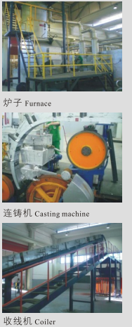 Aluminium & Alloy Rod Continuous Casting and Rolling Line 2