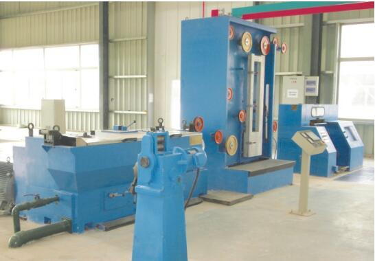 Medium Copper Wire Drawing Machine with Annealer 1
