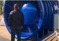 大型可調角度軸流風機-汽車實驗室