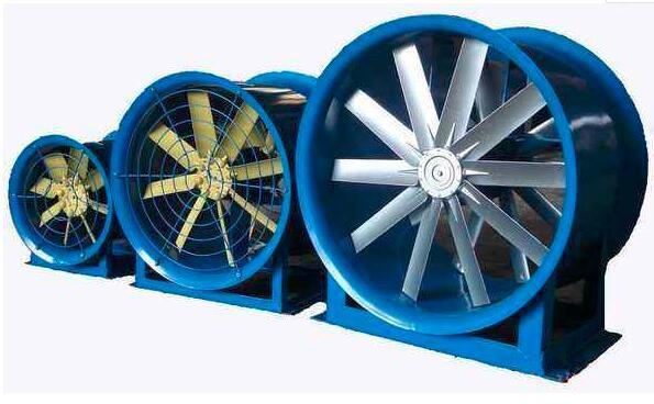 大型可調角度軸流風機-汽車實驗室 2