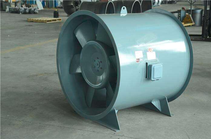 大型可調角度軸流風機-汽車實驗室 3